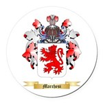 Marchesi Round Car Magnet
