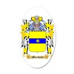 Marchese Oval Car Magnet
