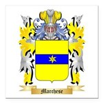 Marchese Square Car Magnet 3