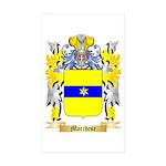 Marchese Sticker (Rectangle 50 pk)