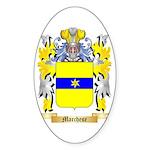Marchese Sticker (Oval 50 pk)