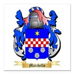 Marchello Square Car Magnet 3
