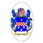 Marchello Sticker (Oval 50 pk)