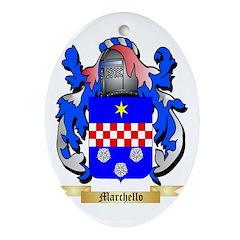 Marchello Oval Ornament