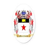 Marchbank Oval Car Magnet