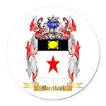 Marchbank Round Car Magnet