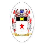 Marchbank Sticker (Oval)
