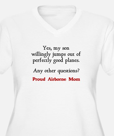 My son jumps...mom T-Shirt