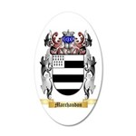 Marchaudon 35x21 Oval Wall Decal
