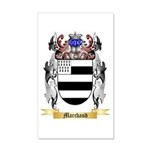 Marchaud 20x12 Wall Decal