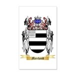 Marchaud 35x21 Wall Decal