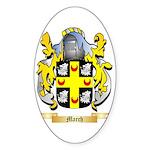 March Sticker (Oval)