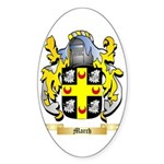 March Sticker (Oval 50 pk)