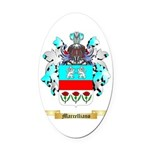 Marcelliano Oval Car Magnet