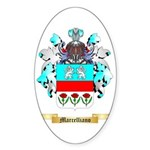 Marcelliano Sticker (Oval 50 pk)