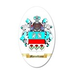 Marcelliano 35x21 Oval Wall Decal