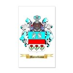 Marcelliano 35x21 Wall Decal