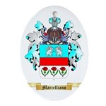 Marcelliano Oval Ornament