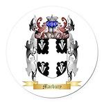 Marbury Round Car Magnet
