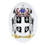 Marbury Oval Ornament