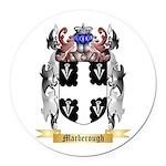 Marberough Round Car Magnet