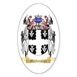 Marberough Sticker (Oval 50 pk)