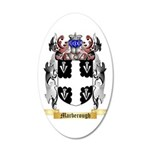 Marberough 35x21 Oval Wall Decal