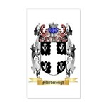 Marberough 35x21 Wall Decal