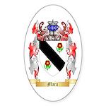 Mara Sticker (Oval 10 pk)