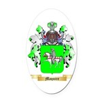 Maquire Oval Car Magnet