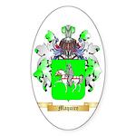 Maquire Sticker (Oval 10 pk)