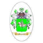 Maquire Sticker (Oval 50 pk)