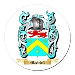 Mapletoft Round Car Magnet