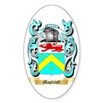 Mapletoft Sticker (Oval)