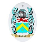 Mapletoft Oval Ornament