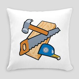 Carpenter Tools Everyday Pillow