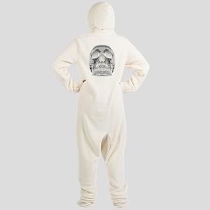 Crystal Skull Footed Pajamas