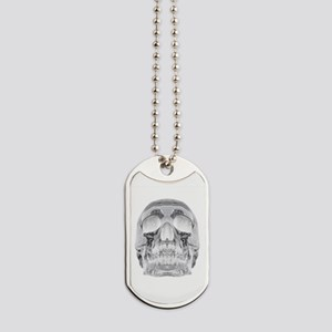 Crystal Skull Dog Tags