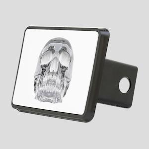 Crystal Skull Rectangular Hitch Cover