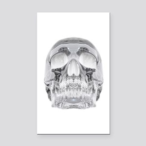 Crystal Skull Rectangle Car Magnet