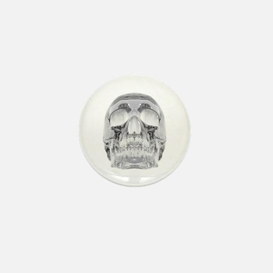 Crystal Skull Mini Button