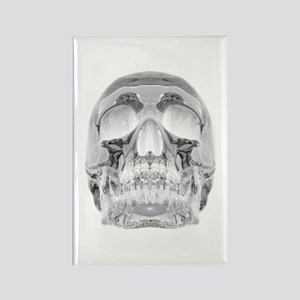 Crystal Skull Rectangle Magnet