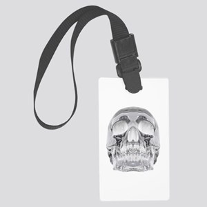 Crystal Skull Large Luggage Tag