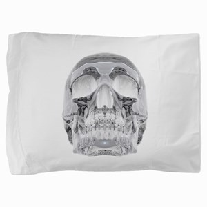 Crystal Skull Pillow Sham