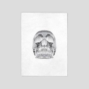 Crystal Skull 5'x7'Area Rug