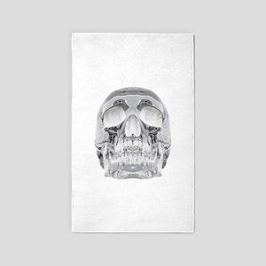 Crystal Skull Area Rug