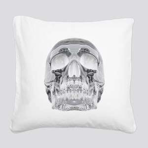 Crystal Skull Square Canvas Pillow