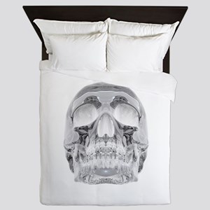 Crystal Skull Queen Duvet