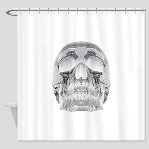 Crystal Skull Shower Curtain