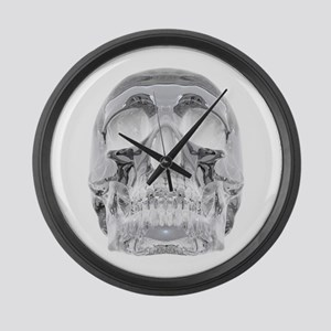 Crystal Skull Large Wall Clock